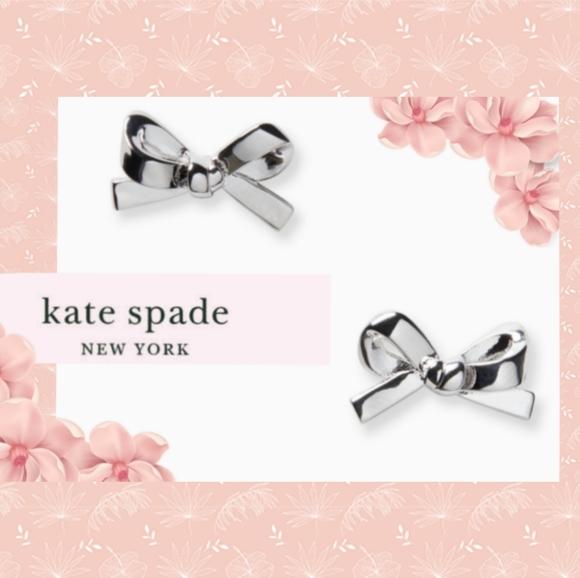 New Kate Spade Mini Bow Earrings